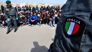 Λαθρομετανάστες στην Ιταλία