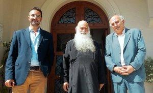 Συνάντηση Σύριζα με μητροπολίτη Σιατίστης