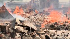 Βομβαρδισμός στην ανατολική Ουκρανία