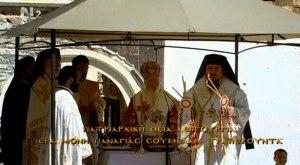 Λειτουργία στη Παναγία σουμελά